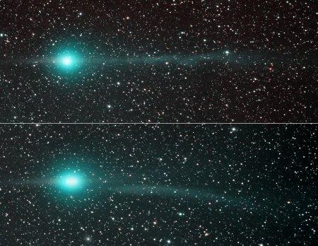 Хвосты кометы Лулинь
